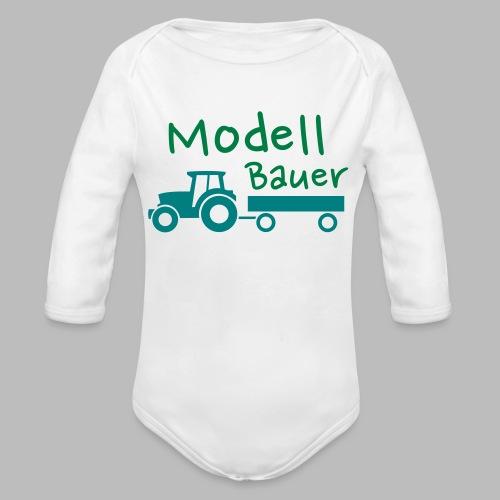 Modellbauer - Modell Bauer - Baby Bio-Langarm-Body