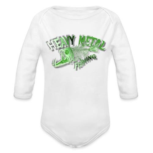 heavy metal alien - Baby Bio-Langarm-Body