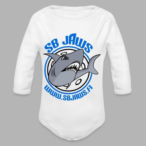 SB JAWS - Vauvan pitkähihainen luomu-body