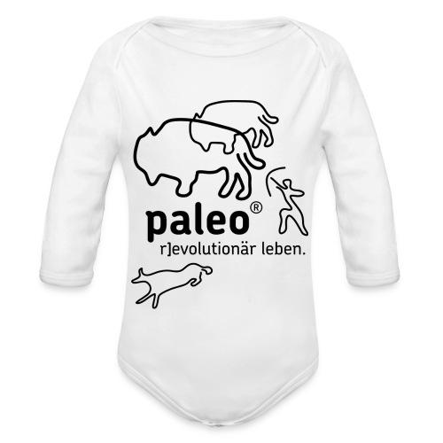 Paleo r evolutionär Illu - Baby Bio-Langarm-Body