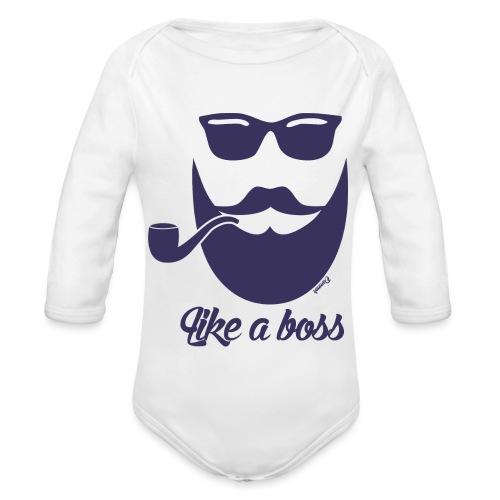 Comme un boss (H) - Body Bébé bio manches longues