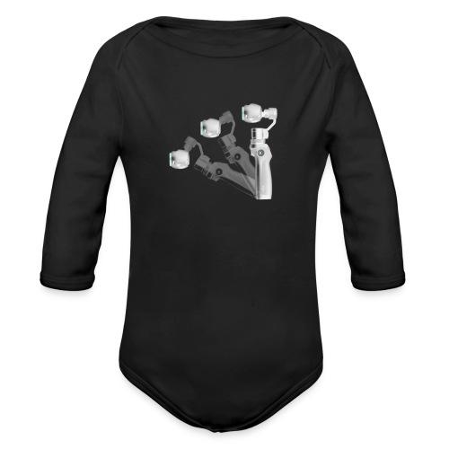 VivoDigitale t-shirt - DJI OSMO - Body ecologico per neonato a manica lunga