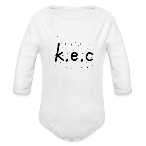 K.E.C original t-shirt - Langærmet babybody, økologisk bomuld