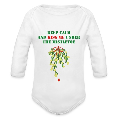 Under the mistletoe - Baby Bio-Langarm-Body