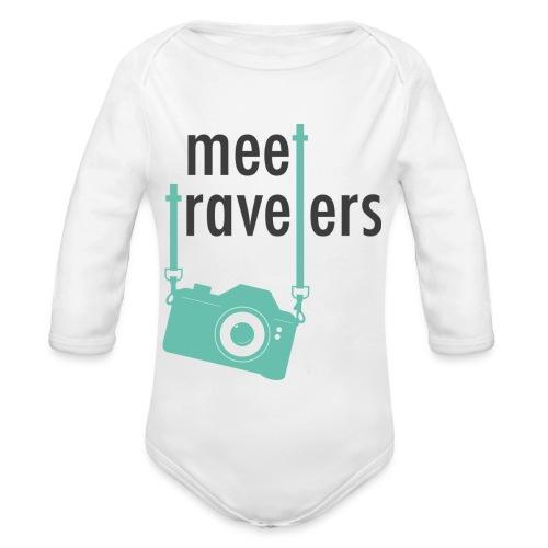 meet-travelers - Body bébé bio manches longues