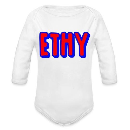Ethy Youtuber Design - Organic Longsleeve Baby Bodysuit