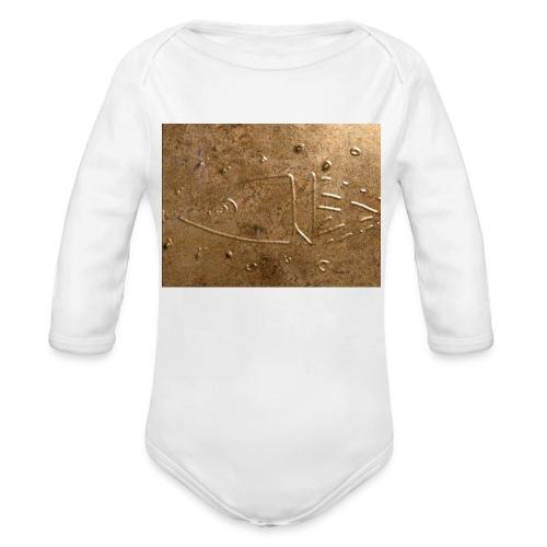 nave - Body orgánico de manga larga para bebé