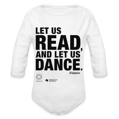 LET US READ | Bookish Merch - Baby Bio-Langarm-Body