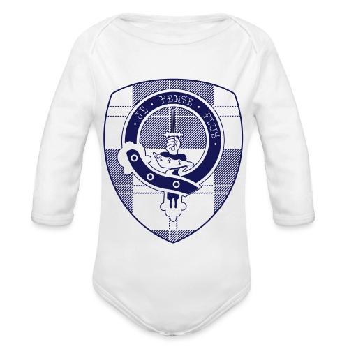 Logo Scouting Erskine 2018 - Baby bio-rompertje met lange mouwen
