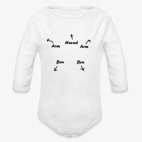 Bebis for dummies - Ekologisk långärmad babybody