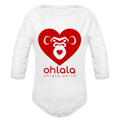Ohlala LOVE - Body Bébé bio manches longues