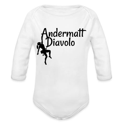 Andermatt Diavolo Uri Geschenkidee - Baby Bio-Langarm-Body
