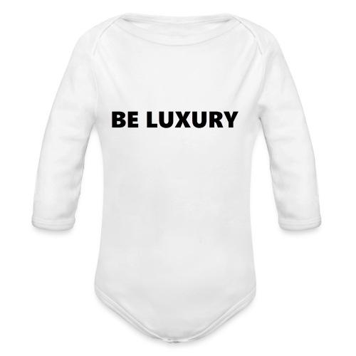 LUXURY - Baby bio-rompertje met lange mouwen