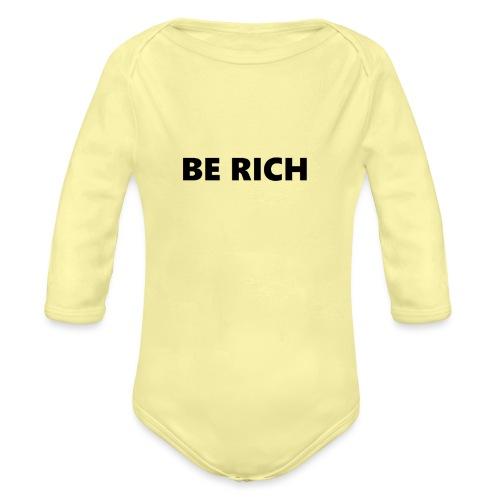 RICH CASE 6/6S - Baby bio-rompertje met lange mouwen