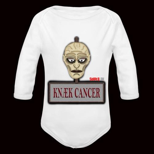 Knæk Cancer Kollektion ! - Langærmet babybody, økologisk bomuld