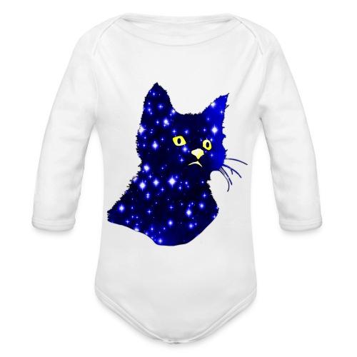 Galactic Cat - Body Bébé bio manches longues