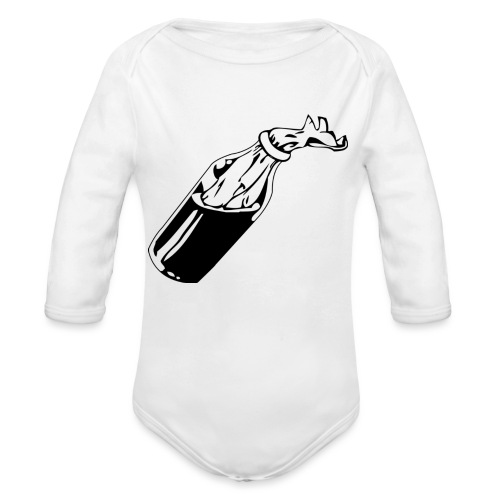 COCTEL MOLOTOV - Body orgánico de manga larga para bebé