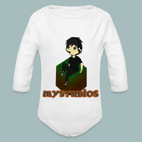 Mystudios Stylo - Baby Bio-Langarm-Body