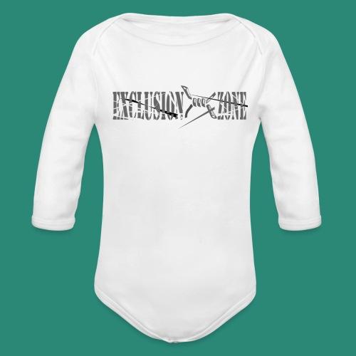 EXCLUSION ZONE - Baby Bio-Langarm-Body
