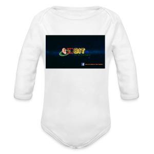 OhrBit Logo - Baby Bio-Langarm-Body