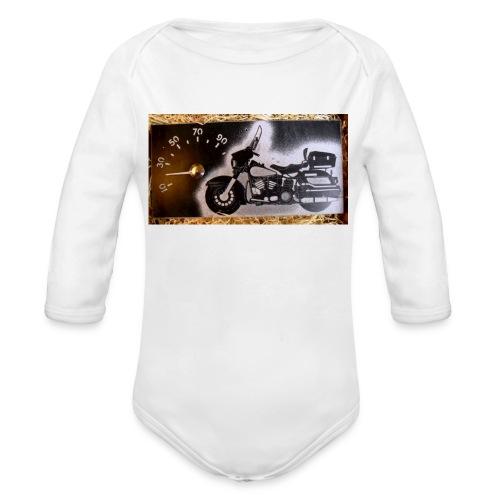 MP-kuva - Vauvan pitkähihainen luomu-body