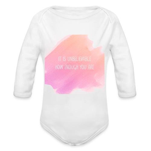 The Perfect Gift - Organic Longsleeve Baby Bodysuit