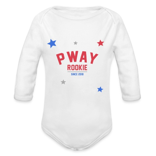 P-Way Rookie - Baby Bio-Langarm-Body