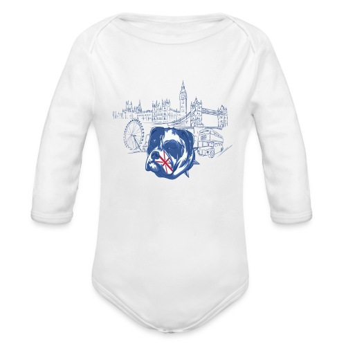 London - Ekologisk långärmad babybody