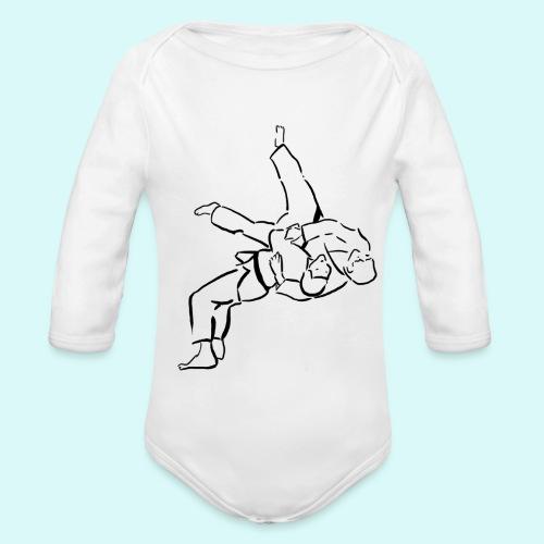 judo - Body Bébé bio manches longues