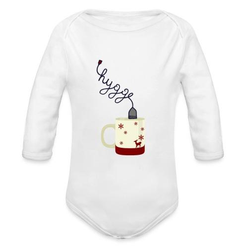 Higge - Body ecologico per neonato a manica lunga