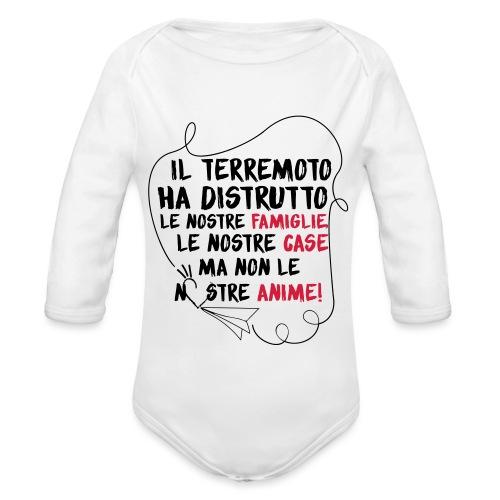 Anima - Body ecologico per neonato a manica lunga
