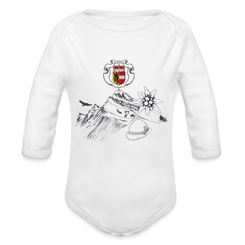 Salzburger Heimat - Baby Bio-Langarm-Body