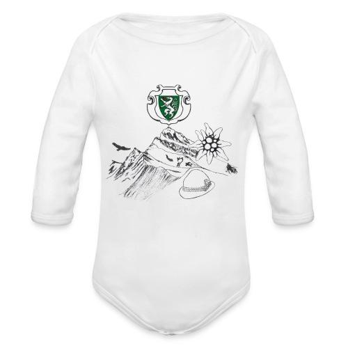 Steirische Heimat - Baby Bio-Langarm-Body