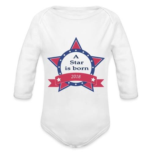 a star is born - Body Bébé bio manches longues