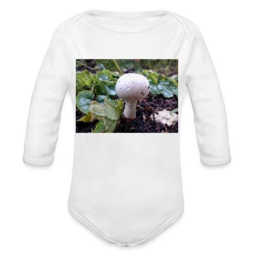 Pilz - Baby Bio-Langarm-Body