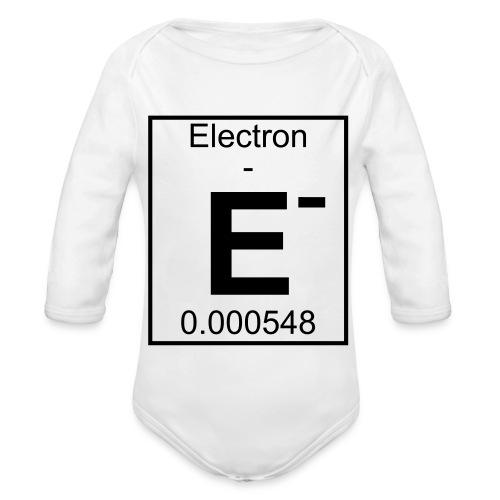 E (electron) - pfll - Organic Longsleeve Baby Bodysuit