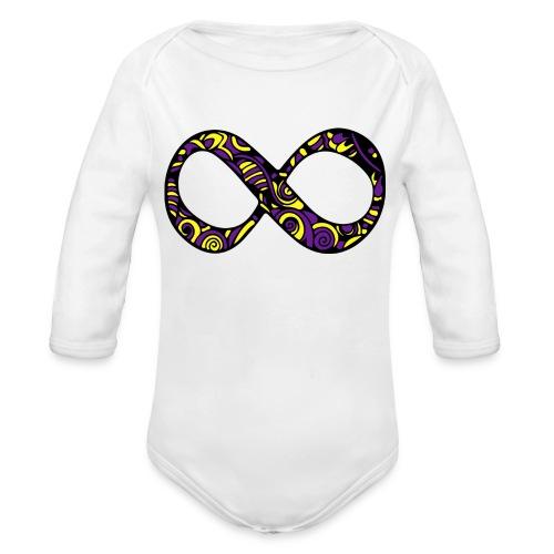 ANCORAGGIO DI MANDALA - Body ecologico per neonato a manica lunga