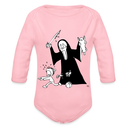 halloween t-skjorte - Økologisk langermet baby-body