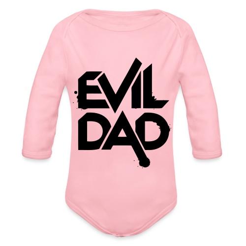 Evildad - Baby bio-rompertje met lange mouwen