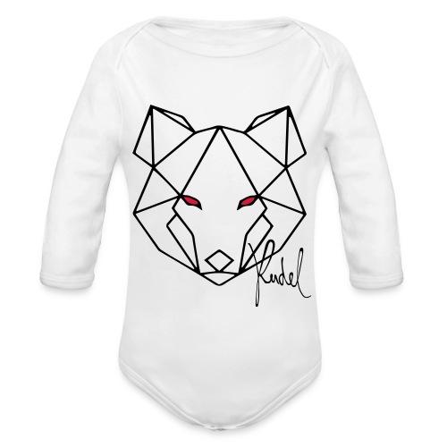 Wolf Rudel - Baby Bio-Langarm-Body