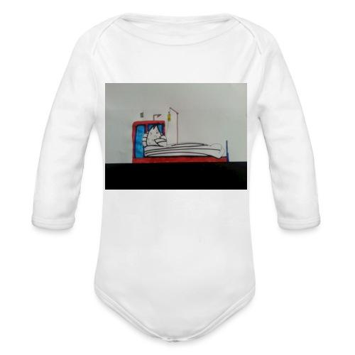 armadillo malaticcio - Body ecologico per neonato a manica lunga