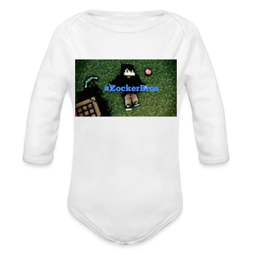 #Zockerbros t-shirt - Baby Bio-Langarm-Body
