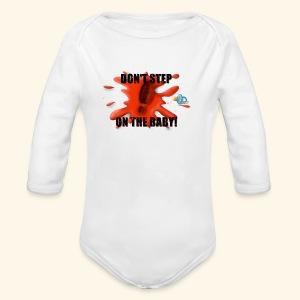 Ne marchez pas sur le bébé - Body bébé bio manches longues