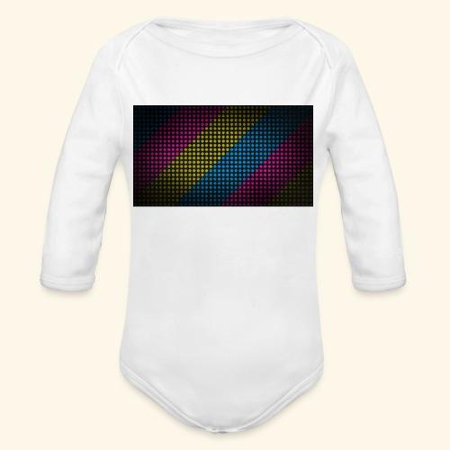 T-Shirts - Baby bio-rompertje met lange mouwen