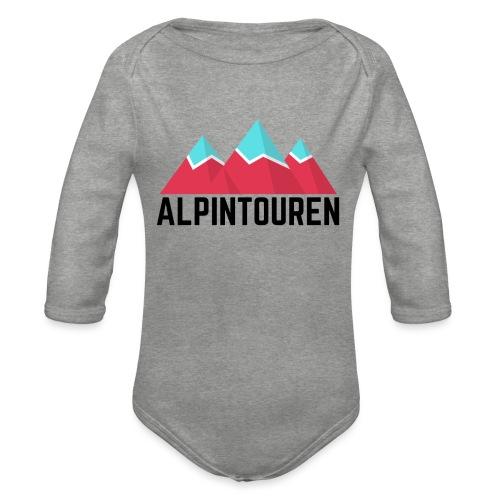 Alpintouren - Baby Bio-Langarm-Body
