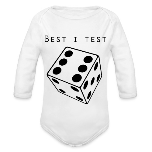 Best i test - Økologisk langermet baby-body