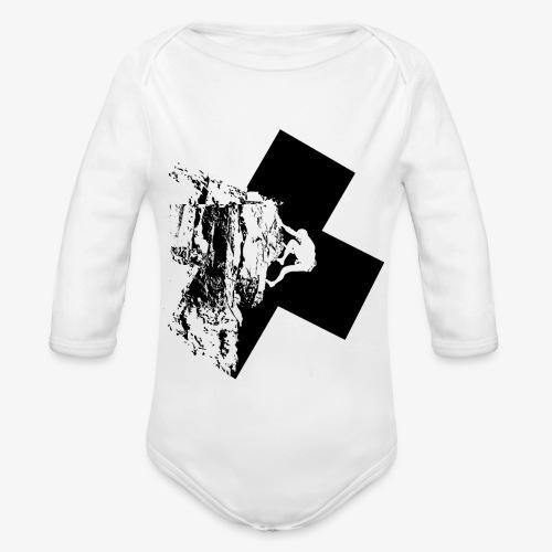 Escalada en roca - Organic Longsleeve Baby Bodysuit