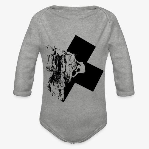 Rock climbing - Organic Longsleeve Baby Bodysuit