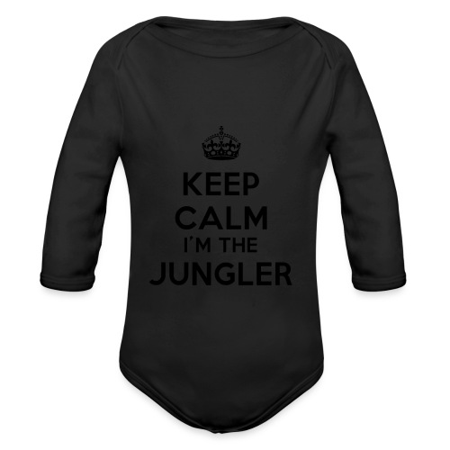 Keep calm I'm the Jungler - Body Bébé bio manches longues