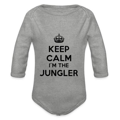 Keep calm I'm the Jungler - Body Bébé bio manches longues